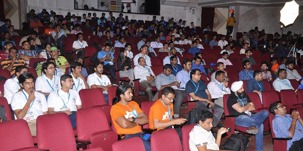 Crowd At WordCamp Mumbai 2016