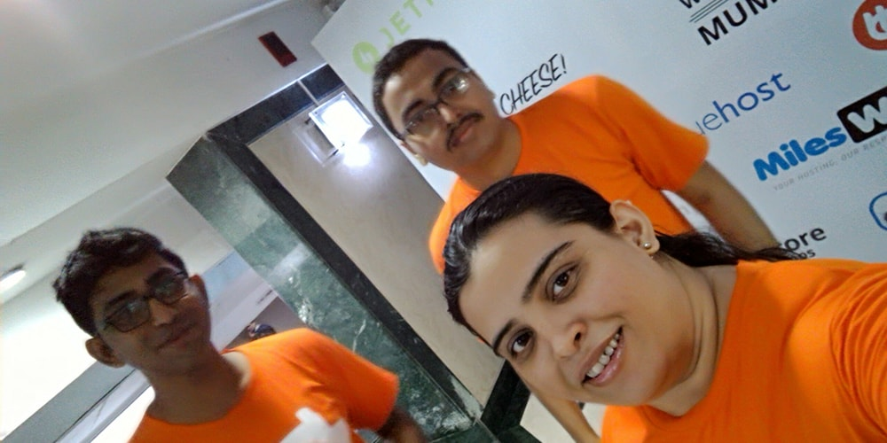 Friends Made At WordCamp Mumbai 2016