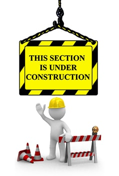 Section Under Construction