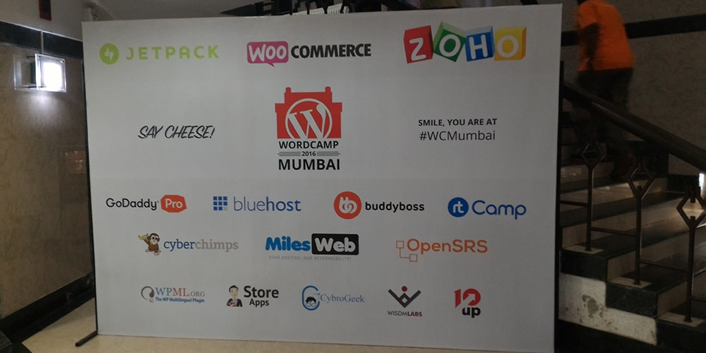 Sponsors At WordCamp Mumbai 2016